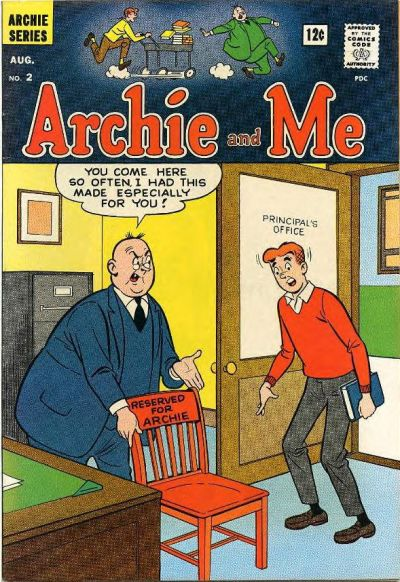 Cover for Archie and Me (Archie, 1964 series) #2