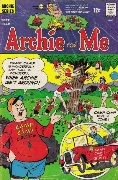 Cover for Archie and Me (Archie, 1964 series) #10