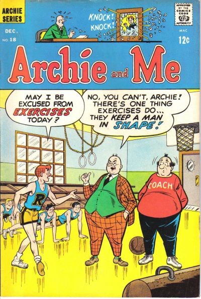 Cover for Archie and Me (Archie, 1964 series) #18