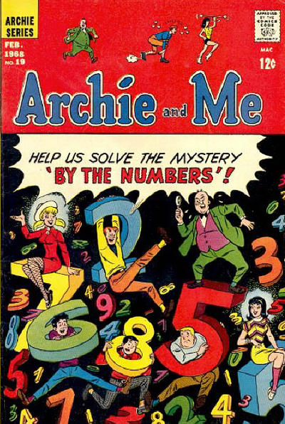 Cover for Archie and Me (Archie, 1964 series) #19