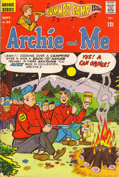 Cover for Archie and Me (Archie, 1964 series) #23