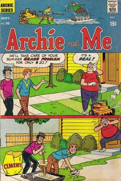 Cover for Archie and Me (Archie, 1964 series) #30