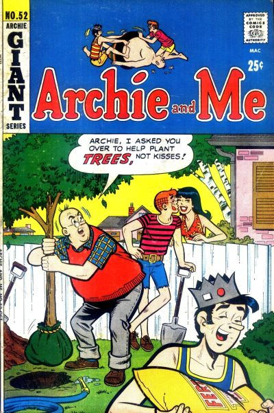 Cover for Archie and Me (Archie, 1964 series) #52
