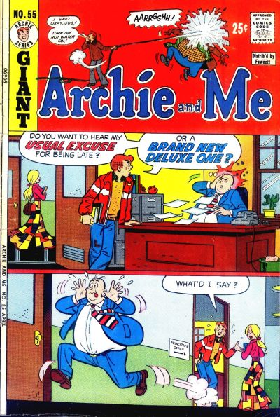 Cover for Archie and Me (Archie, 1964 series) #55