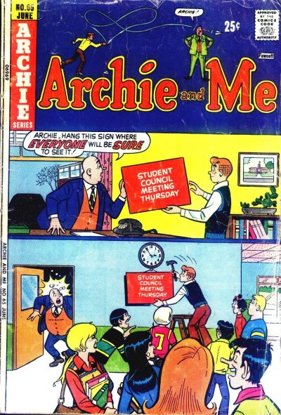 Cover for Archie and Me (Archie, 1964 series) #65
