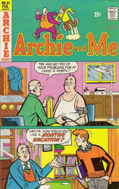 Cover for Archie and Me (Archie, 1964 series) #81