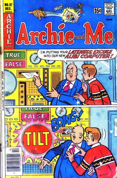 Cover for Archie and Me (Archie, 1964 series) #97