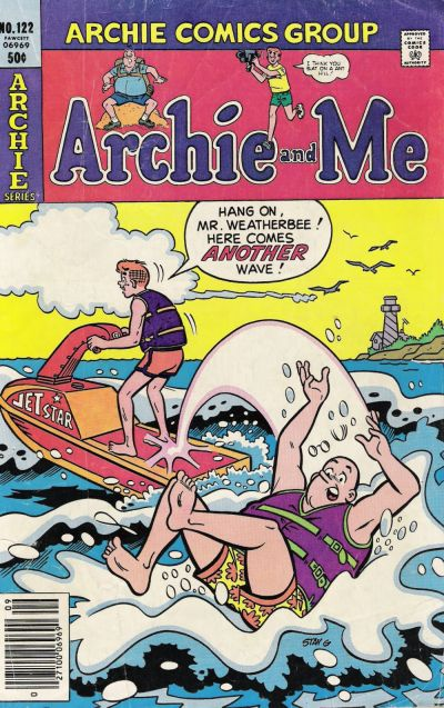Cover for Archie and Me (Archie, 1964 series) #122