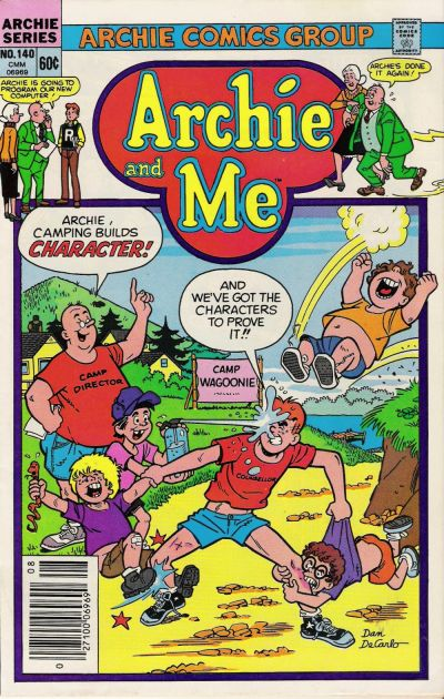 Cover for Archie and Me (Archie, 1964 series) #140