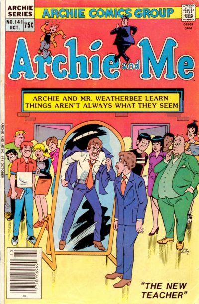 Cover for Archie and Me (Archie, 1964 series) #141