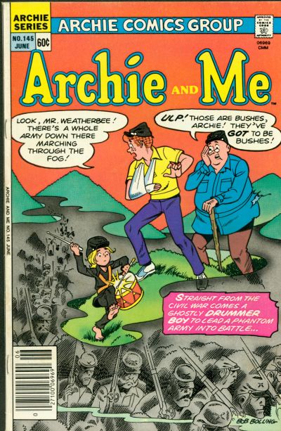 Cover for Archie and Me (Archie, 1964 series) #145
