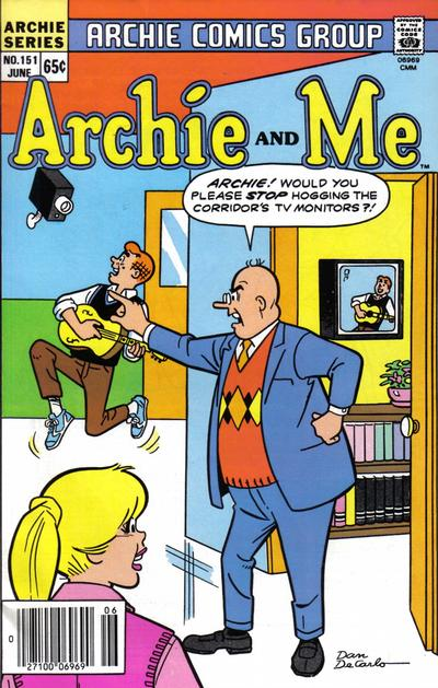 Cover for Archie and Me (Archie, 1964 series) #151