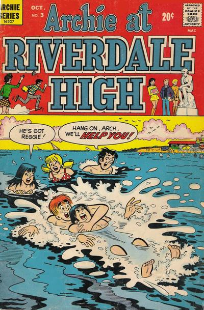 Cover for Archie at Riverdale High (Archie, 1972 series) #3