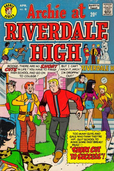 Cover for Archie at Riverdale High (Archie, 1972 series) #6