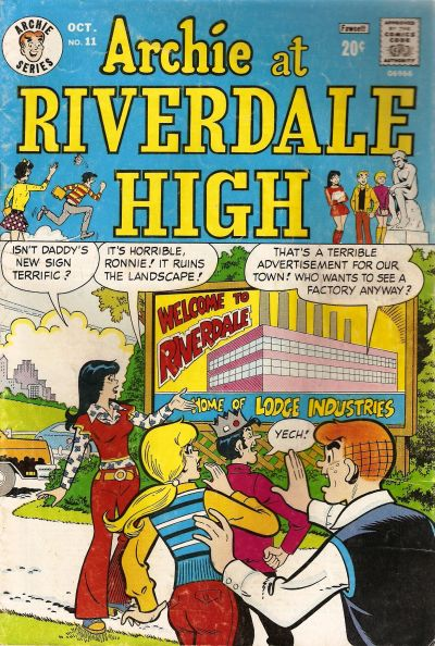 Cover for Archie at Riverdale High (Archie, 1972 series) #11