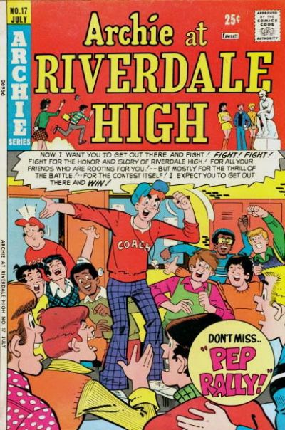 Cover for Archie at Riverdale High (Archie, 1972 series) #17
