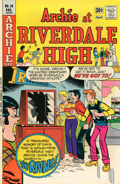 Cover for Archie at Riverdale High (Archie, 1972 series) #38