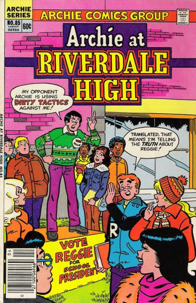 Cover for Archie at Riverdale High (Archie, 1972 series) #85