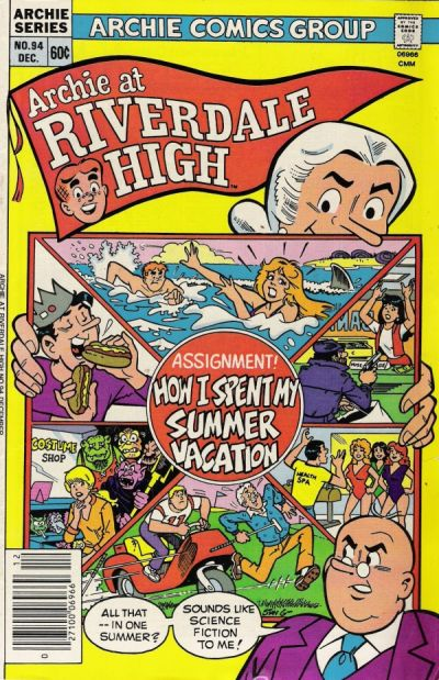 Cover for Archie at Riverdale High (Archie, 1972 series) #94