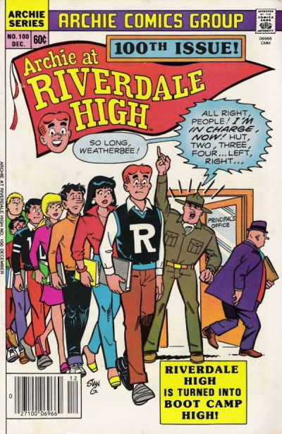 Cover for Archie at Riverdale High (Archie, 1972 series) #100