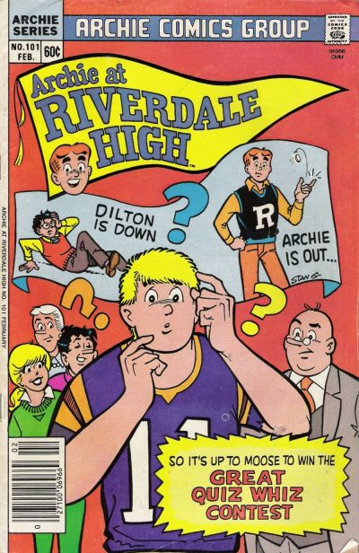 Cover for Archie at Riverdale High (Archie, 1972 series) #101