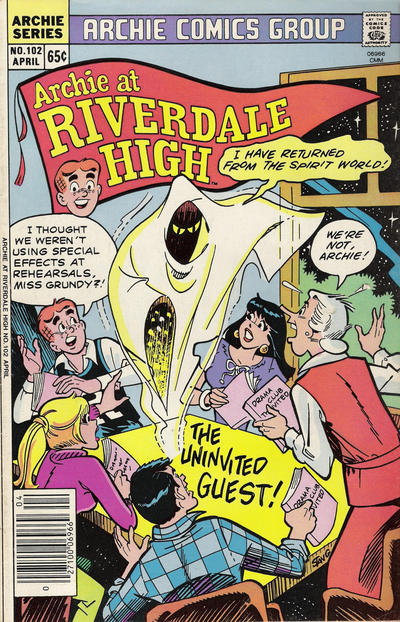 Cover for Archie at Riverdale High (Archie, 1972 series) #102