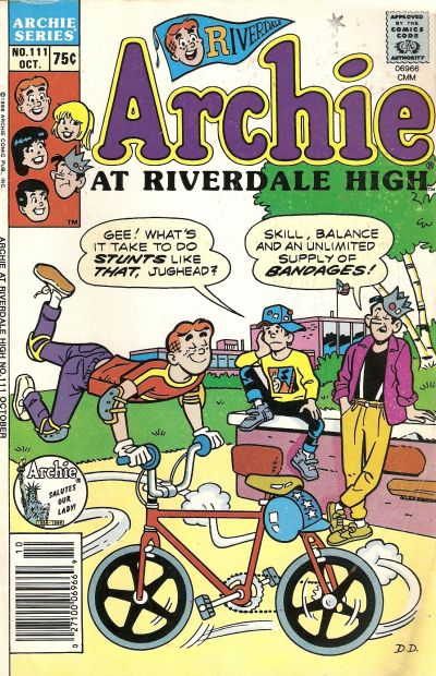 Cover for Archie at Riverdale High (Archie, 1972 series) #111