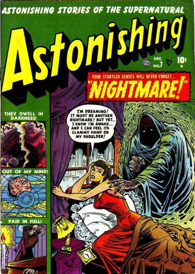 Cover for Astonishing (Marvel, 1951 series) #7