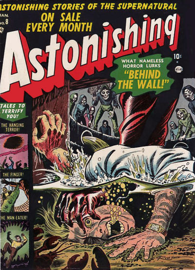 Cover for Astonishing (Marvel, 1951 series) #8