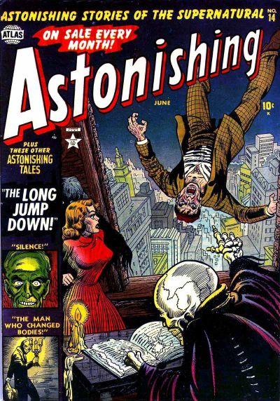 Cover for Astonishing (Marvel, 1951 series) #14