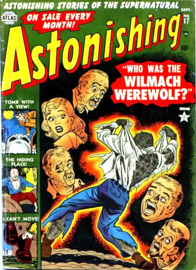 Cover for Astonishing (Marvel, 1951 series) #17