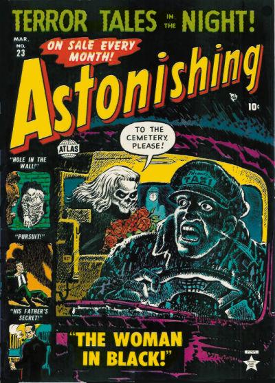 Cover for Astonishing (Marvel, 1951 series) #23