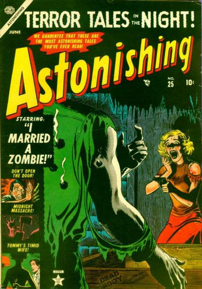 Cover for Astonishing (Marvel, 1951 series) #25