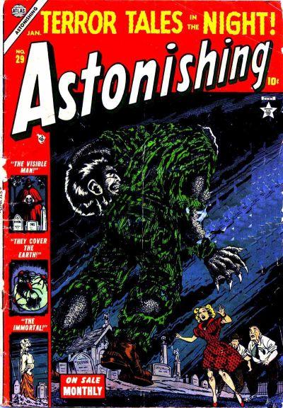 Cover for Astonishing (Marvel, 1951 series) #29