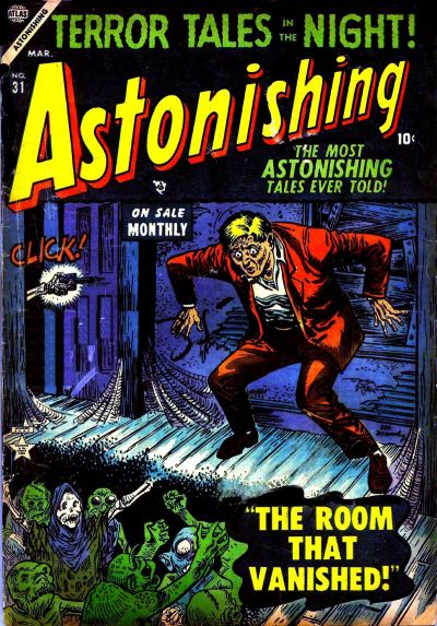 Cover for Astonishing (Marvel, 1951 series) #31