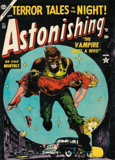 Cover for Astonishing (Marvel, 1951 series) #32