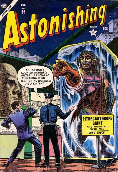Cover for Astonishing (Marvel, 1951 series) #36