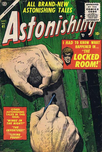 Cover for Astonishing (Marvel, 1951 series) #41