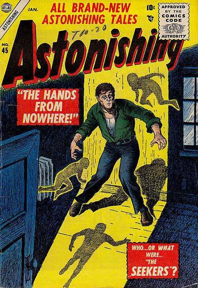 Cover for Astonishing (Marvel, 1951 series) #45