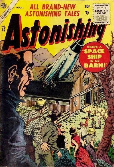 Cover for Astonishing (Marvel, 1951 series) #47