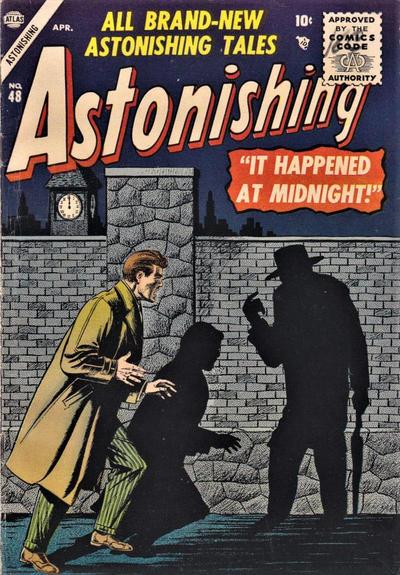 Cover for Astonishing (Marvel, 1951 series) #48