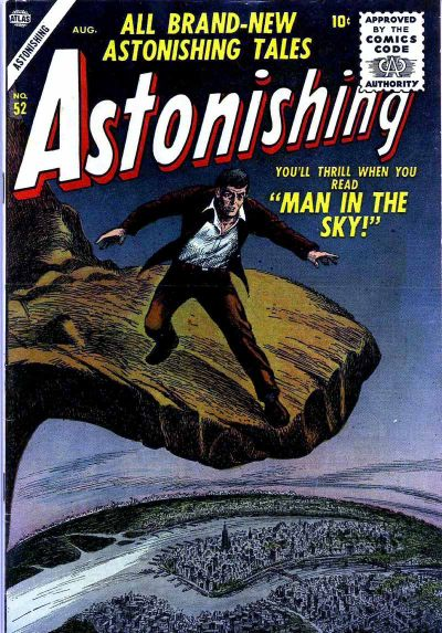 Cover for Astonishing (Marvel, 1951 series) #52