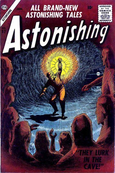 Cover for Astonishing (Marvel, 1951 series) #57
