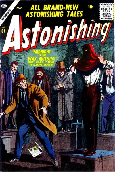 Cover for Astonishing (Marvel, 1951 series) #61