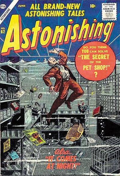 Cover for Astonishing (Marvel, 1951 series) #62
