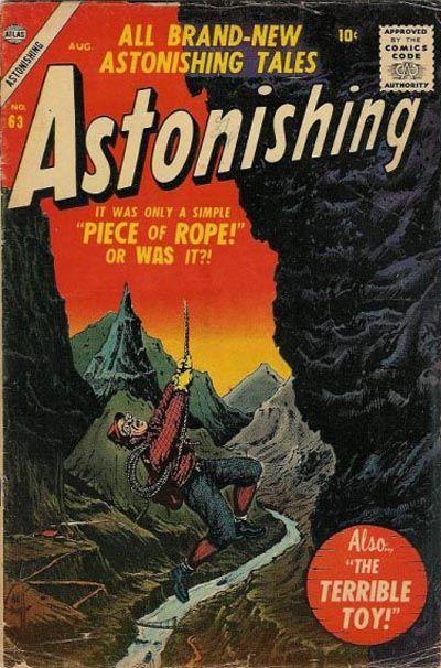 Cover for Astonishing (Marvel, 1951 series) #63
