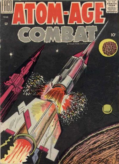 Cover for Atom Age Combat (Fago Magazines, 1958 series) #3