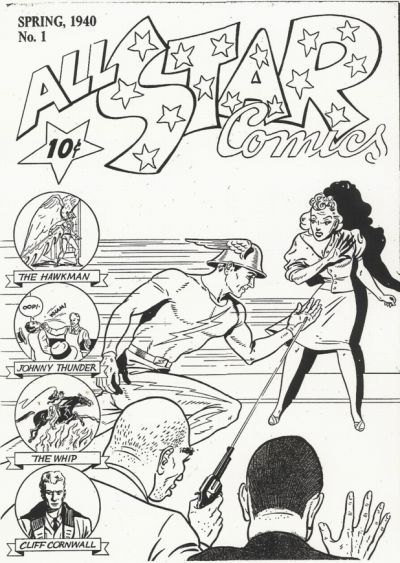 Cover for All Star Comics [ashcan] (DC, 1940 series) #1
