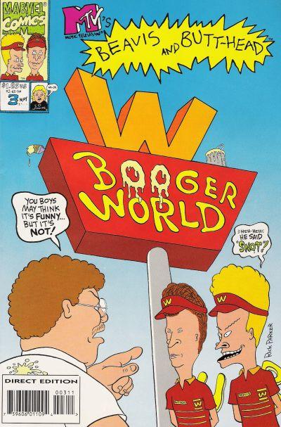 Cover for Beavis & Butt-Head (Marvel, 1994 series) #3