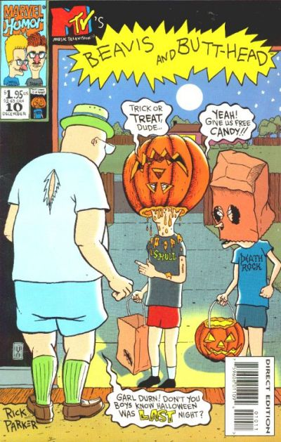 Cover for Beavis & Butt-Head (Marvel, 1994 series) #10